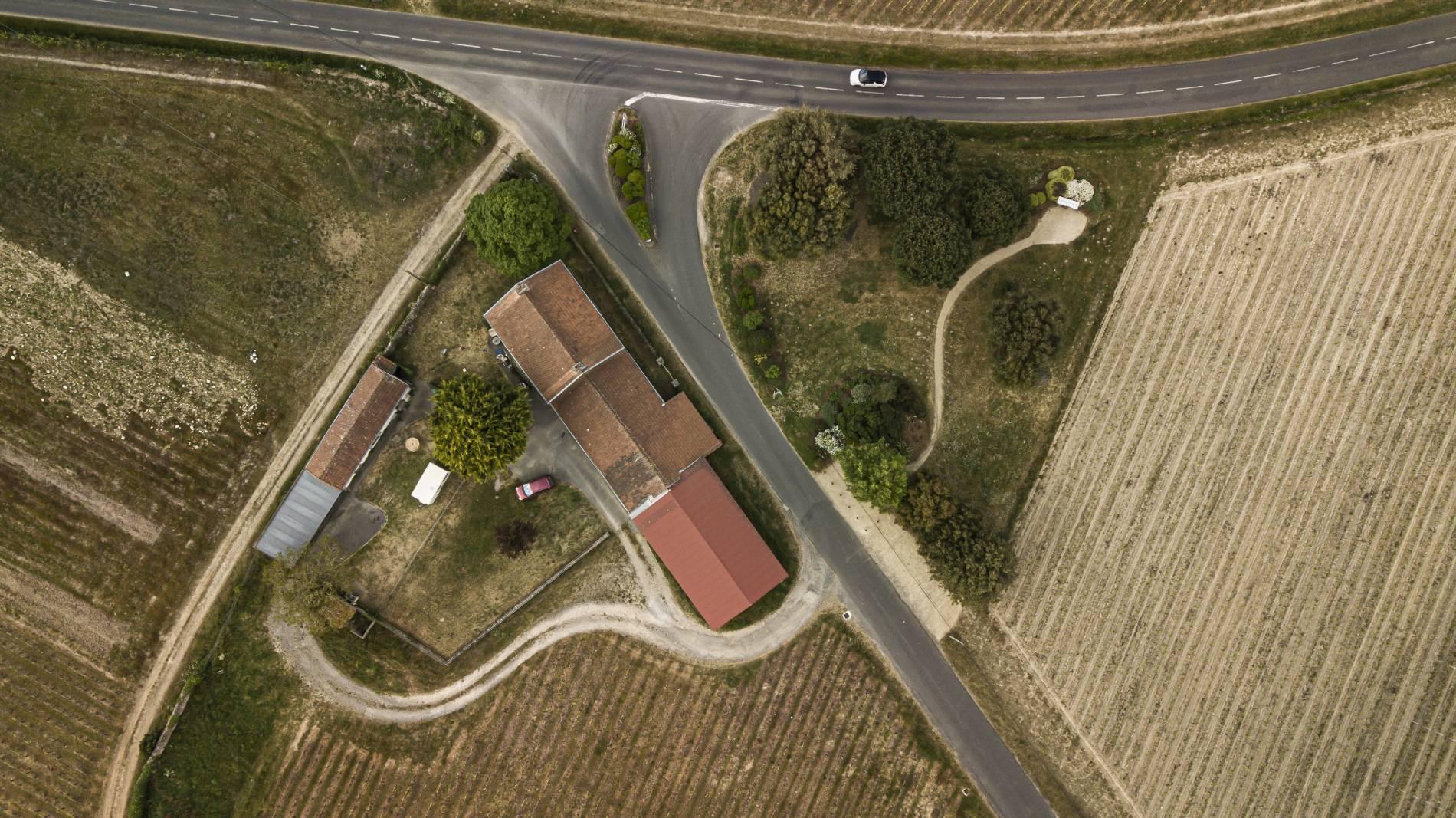 Panorama du domaine Paradis en sud Loire